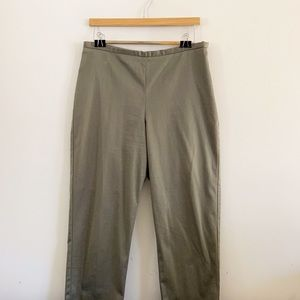 The Limited green tapered trousers